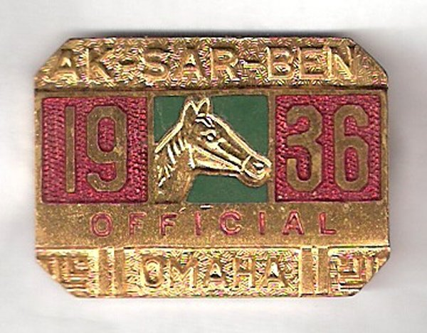 1936 Racing Official Pin Image