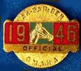 1946 Racing Official Pin Image