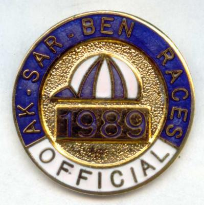 1989 Racing Official Pin Image