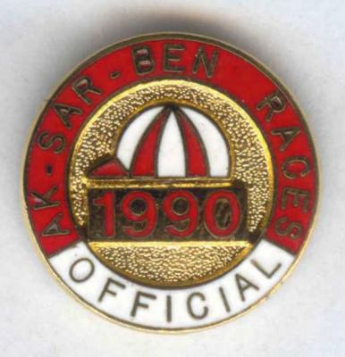 1990 Racing Official Pin Image