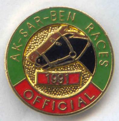 1991 Racing Official Pin Image